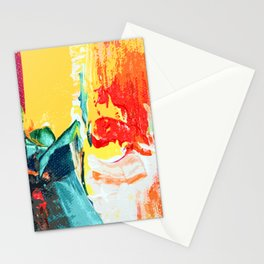 Color Collage Stationery Cards