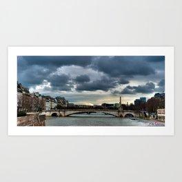 La Seine Art Print