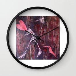 L'amour fou - Fool love Wall Clock