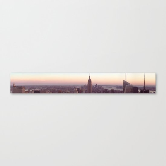 New York City - Manhattan Panorama Canvas Print