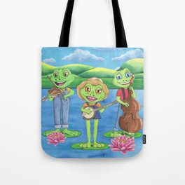 The Boggy Froggies Bluegrass Band Tote Bag