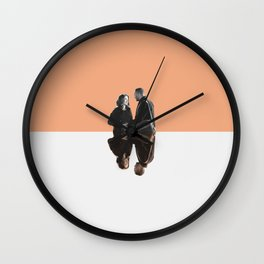 April and Jackson Wall Clock