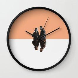 April and Jackson Wall Clock
