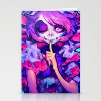 barachan Stationery Cards featuring wraith by barachan