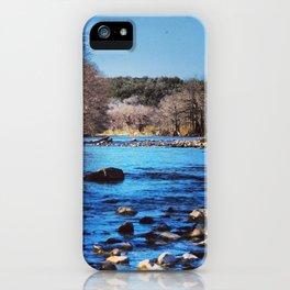 Pedernales Flowing iPhone Case