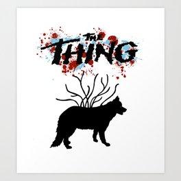 Carpenter Thing Art Print
