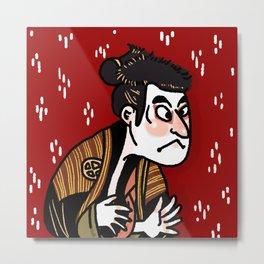 Fierce Kabuki Metal Print