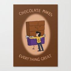 Chocolate! Canvas Print