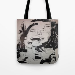 Laughing To Pieces Tote Bag