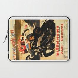 Nurburgring Race, vintage poster Laptop Sleeve