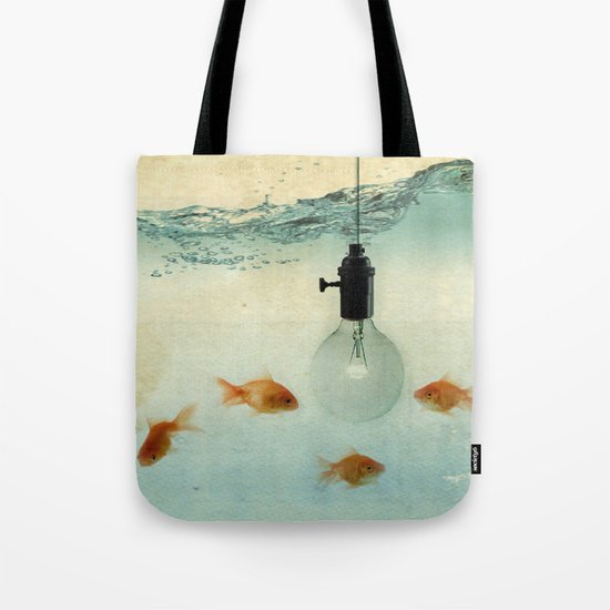 Fishing for ideas Tote Bag