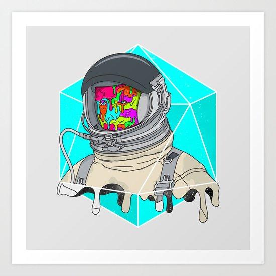 Psychonaut - Light Art Print