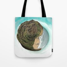 Bells Beach tiny world Tote Bag