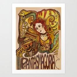 Phantasmagoria Art Print