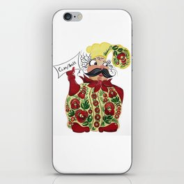 Little chef in petrykivka style iPhone Skin