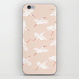 Crane Dance iPhone Skin