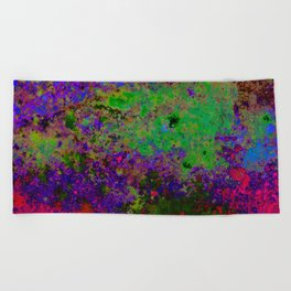 Random Colors Beach Towel