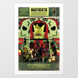 27 Club | Dead Rock Stars Art Print