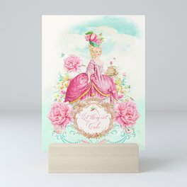 Marie Antoinette Let them Eat Cake Mini Art Print