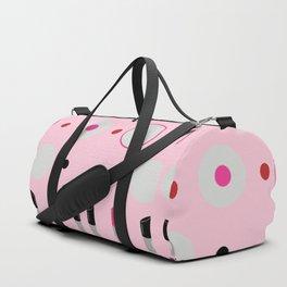 Polka Dots and Lipsticks Duffle Bag