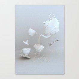 Tea Hour Canvas Print
