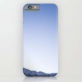 Daylight Moon Ridge iPhone Case