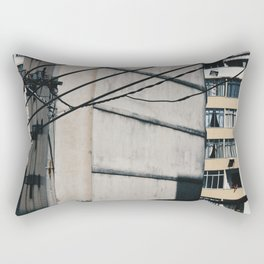 Looking out Rectangular Pillow