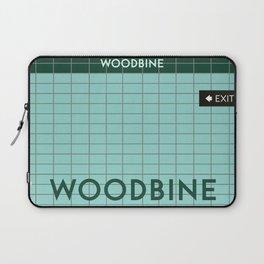 WOODBINE | Subway Station Laptop Sleeve