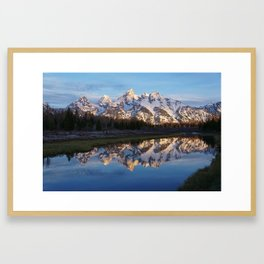 Cold & Clear Framed Art Print