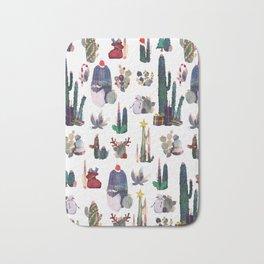 Christmas cactus Bath Mat