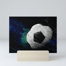 Soccer art print cx 2 Mini Art Print