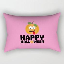 Happy Halloween Pumpkin T-Shirt Dr0lg Rectangular Pillow