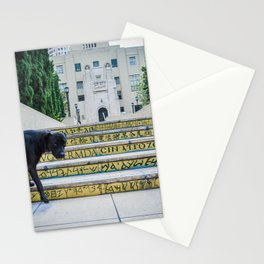 Steps of Gods or Dogs Stationery Cards