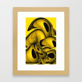 Squeezed Framed Art Print