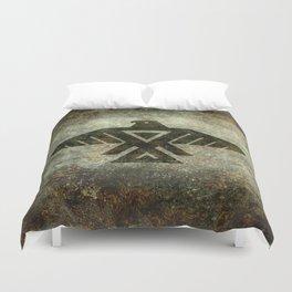 Thunderbird, Emblem of the Anishinaabe people Duvet Cover