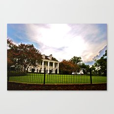 Plantation Skies Canvas Print