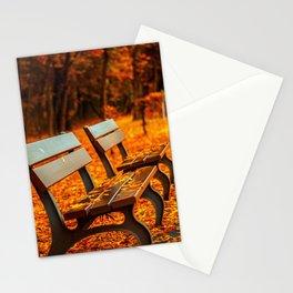 Park Bench Stationery Cards