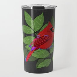Red Cardinal Wall Print Travel Mug