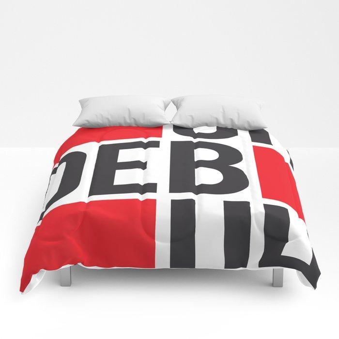 Heb-uh-deb-uh-ditch Comforters