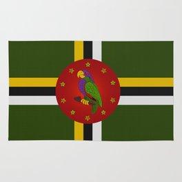 Dominica Flag Rug