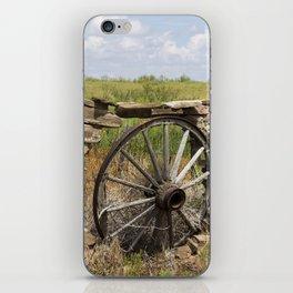 Wagon Wheel iPhone Skin