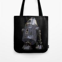 sci fi Tote Bags featuring Steampunk Sci-Fi 4 by gypsykissphotography