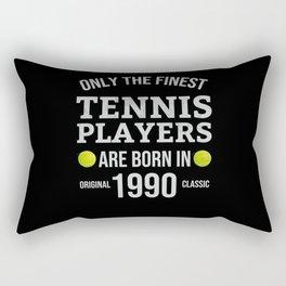 Tennis Gift 30-Year-Old Tennis Player | Born 1990 Rectangular Pillow