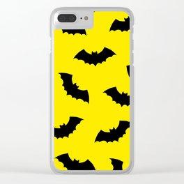 Moonlight Bats Clear iPhone Case