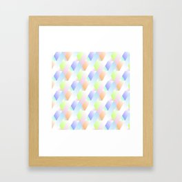 Irregular Forms Framed Art Print