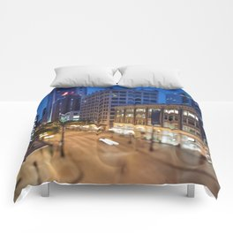 Downtown Seattle Comforters