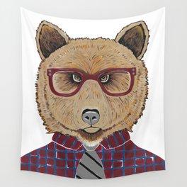 Mr Bear Wall Tapestry