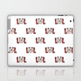Funny Emoji Laughing Out Loud Pattern Laptop & iPad Skin