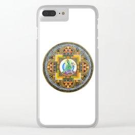 Thang-ga of Green Tara Clear iPhone Case