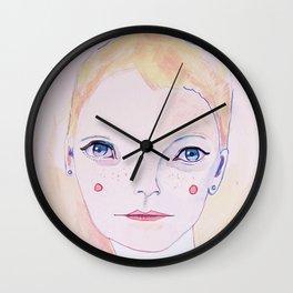 Mia Farrow Wall Clock